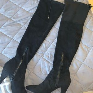Guess High Heel Thigh High Boots